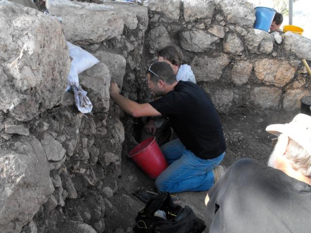 Guy excavating
